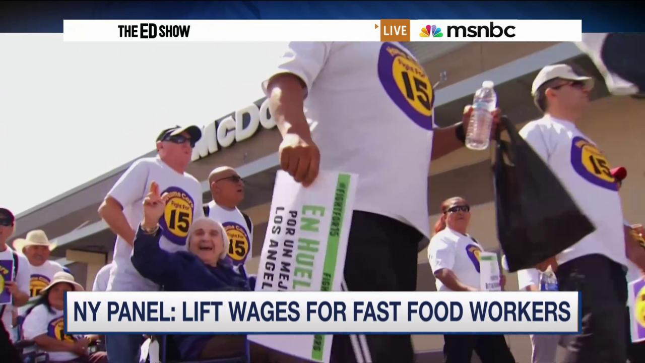 Big victory for fast-food workers