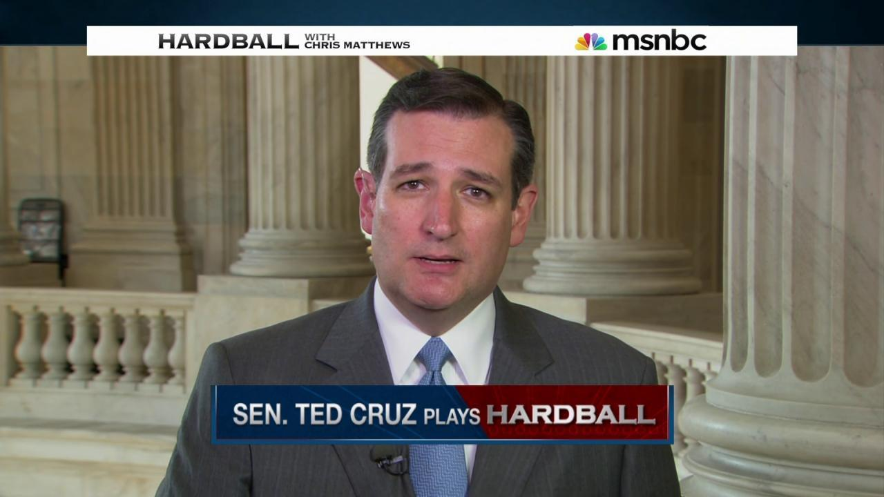 Cruz weighs in on Trump's visit to the border
