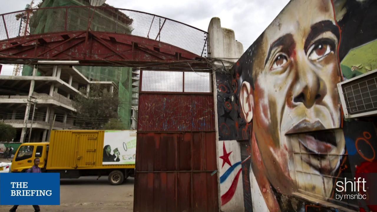 'Obamamania' takes over Kenya ahead of visit
