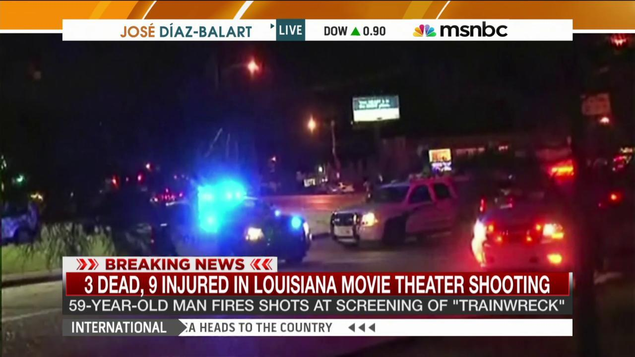 Theater-goer: Thank God for first responders