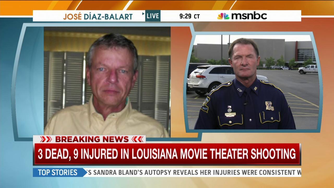 Police official describes gunman's record