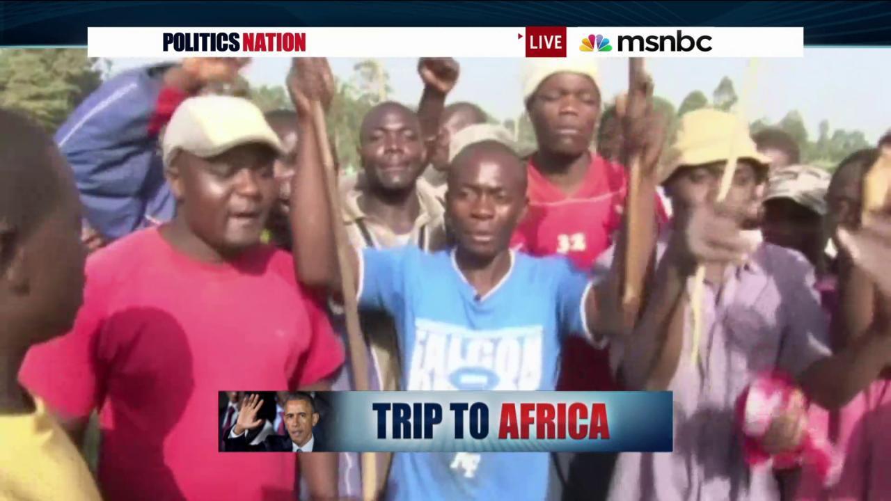 President Obama returns to Kenya