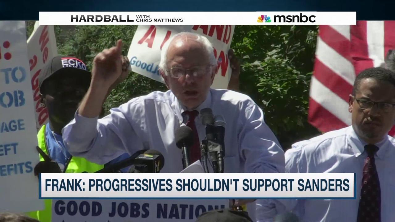 Are Republicans building up Bernie Sanders?
