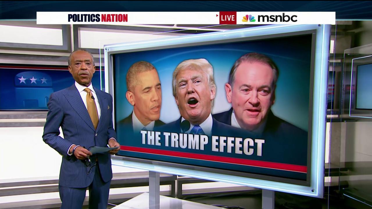 Is Trump's effect rubbing off on Huckabee?