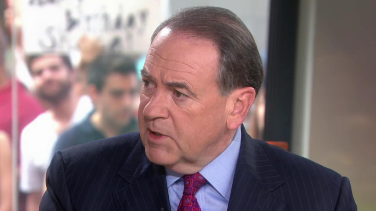 A double standard for Huckabee?