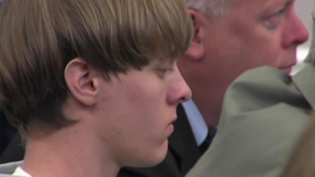 Church shooter Dylann Roof appears in court