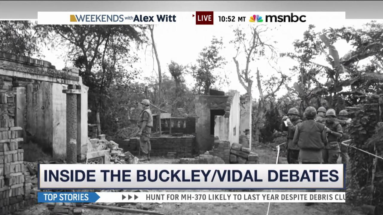 Film captures rivalry of Buckley and Vidal