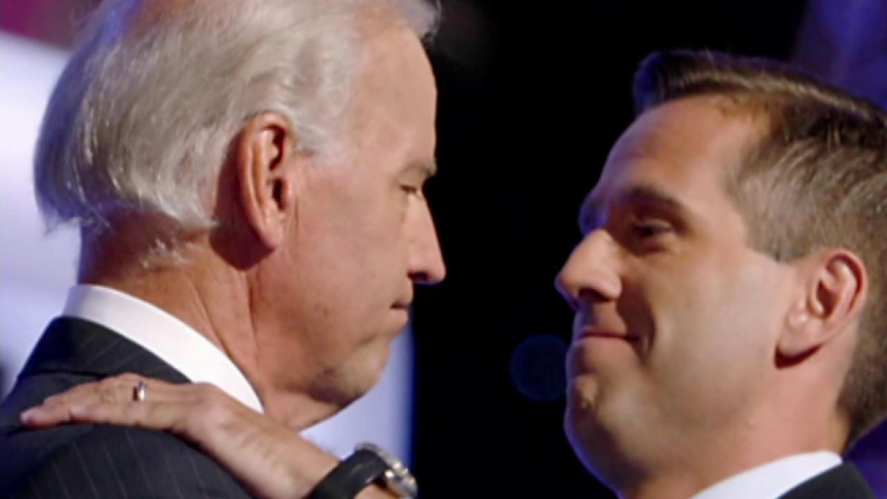 Ailing son urged Biden to run in 2016: Report