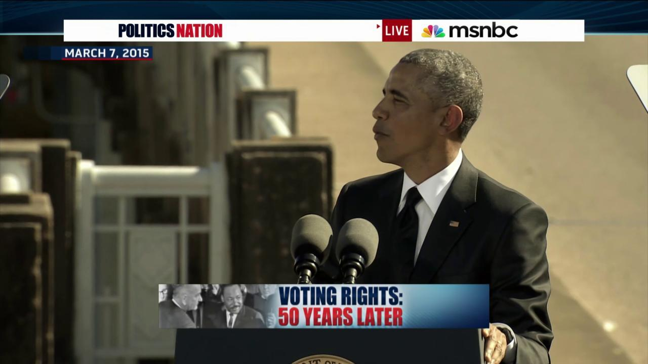Voting Rights Act 50 years later