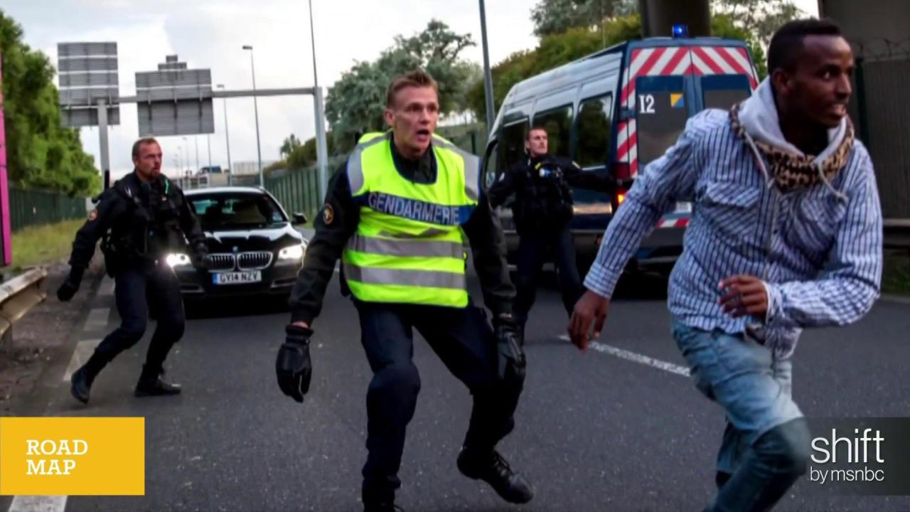 Calais migrant crisis ramps up