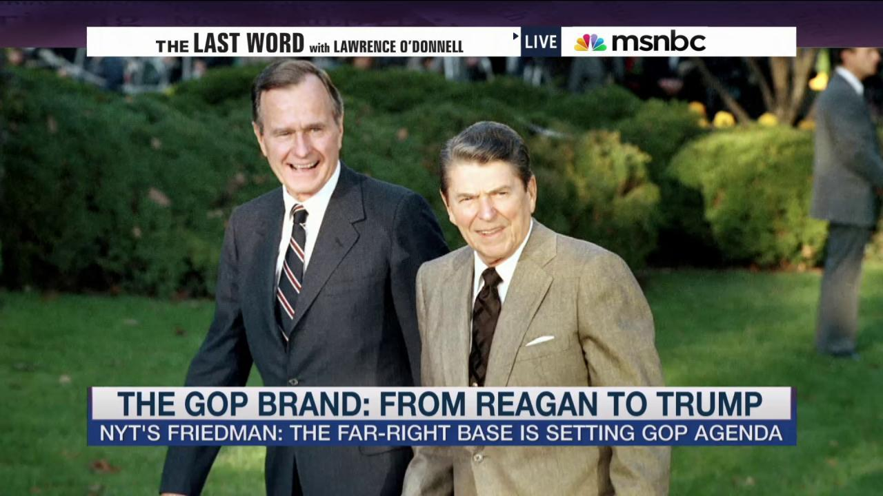 The GOP brand: from Reagan to Trump