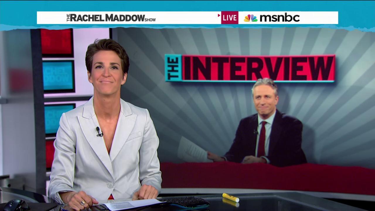 Maddow: Jon Stewart made US a better country