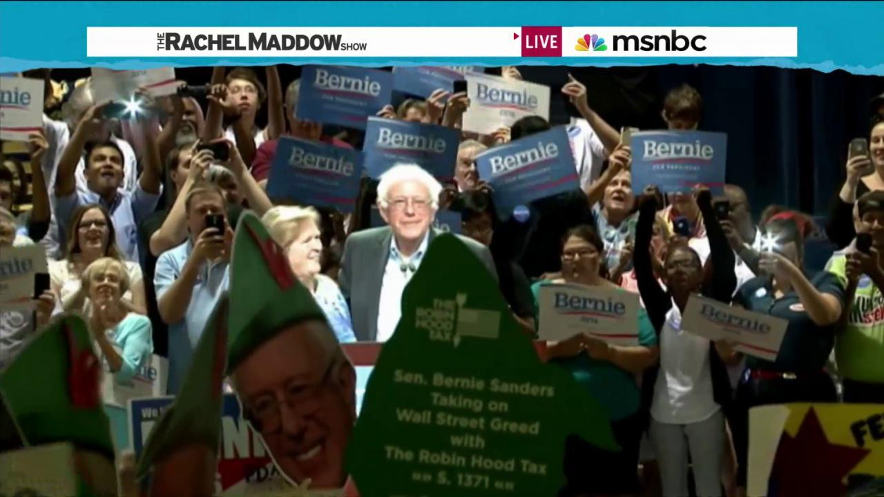 Sanders camp preps for another big event