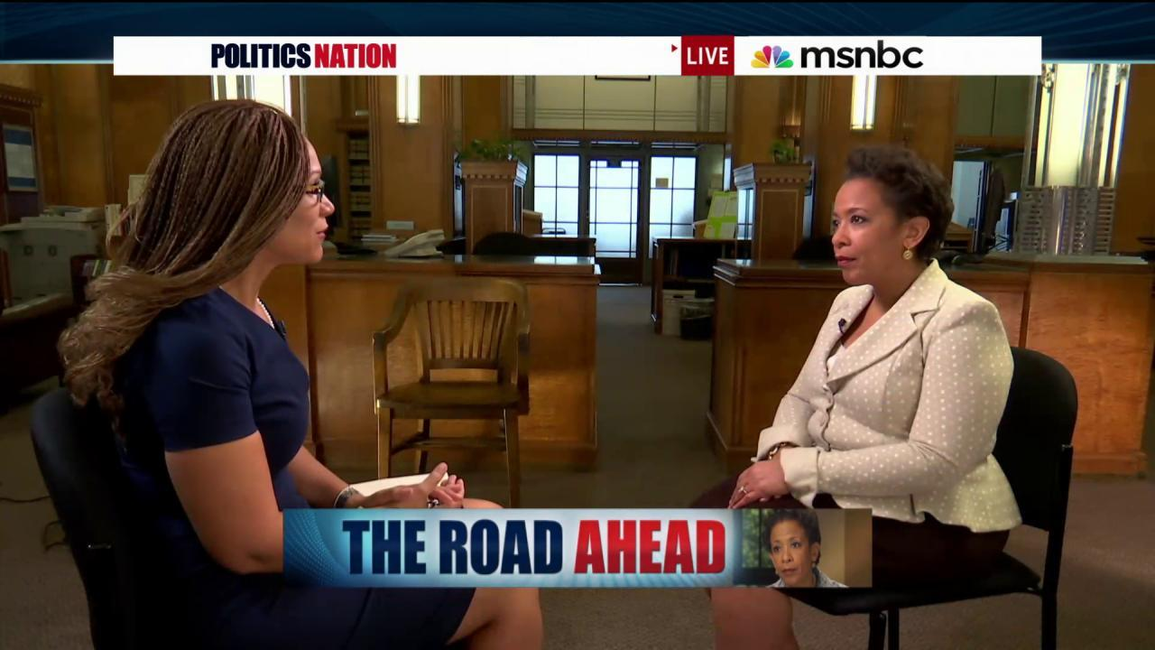 Loretta Lynch's fight for voting rights