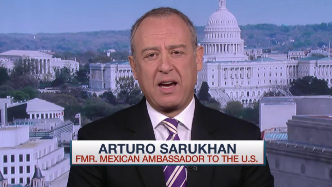 Fmr Mexican Amb. responds to Trump's claims