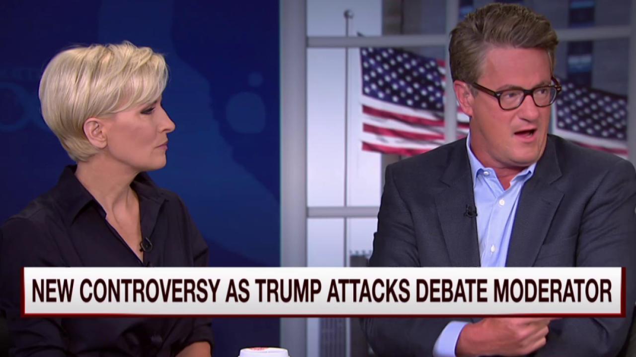 Joe: Media overreacting on Trump's demise