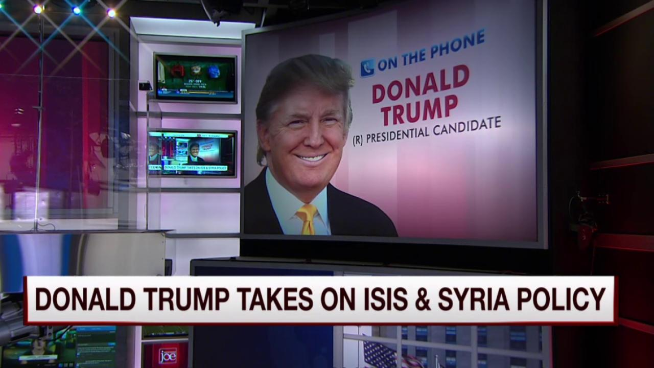 Trump: We have to take out ISIS