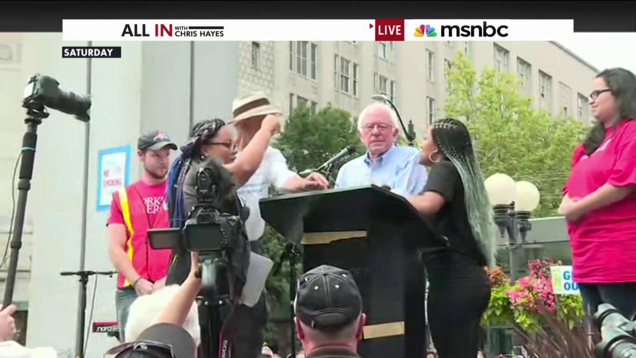 Bernie Sanders and Black Lives Matter