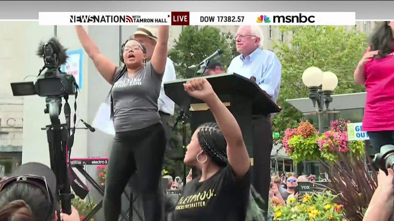 Bernie Sanders' new racial injustice plan