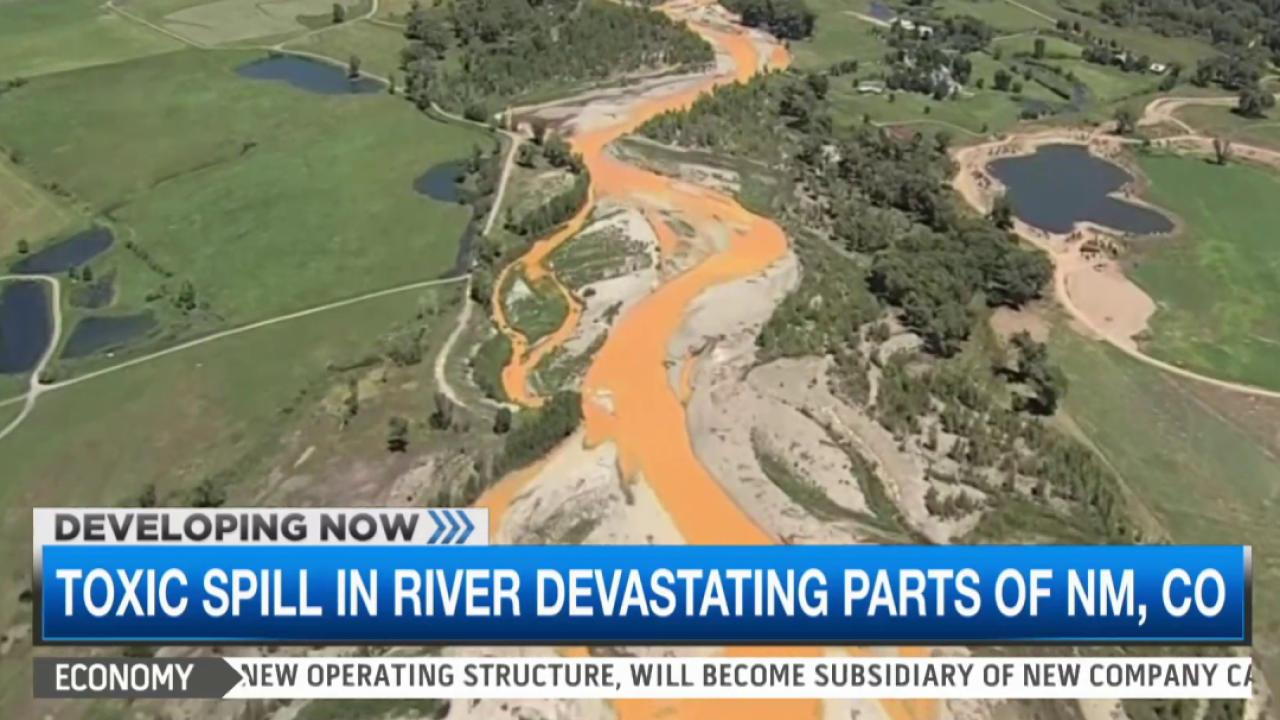 Toxic spill devastates parts of Southwest