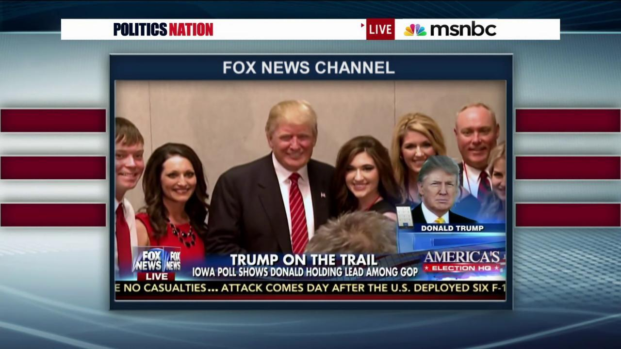 Trump, Fox and friends