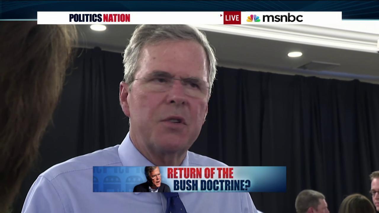 Jeb Bush criticizes Obama & Clinton over Iraq