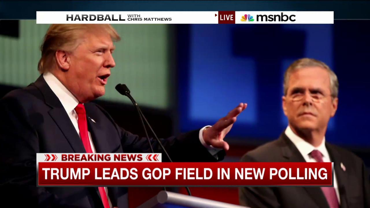 Trump continues to lead GOP in new poll