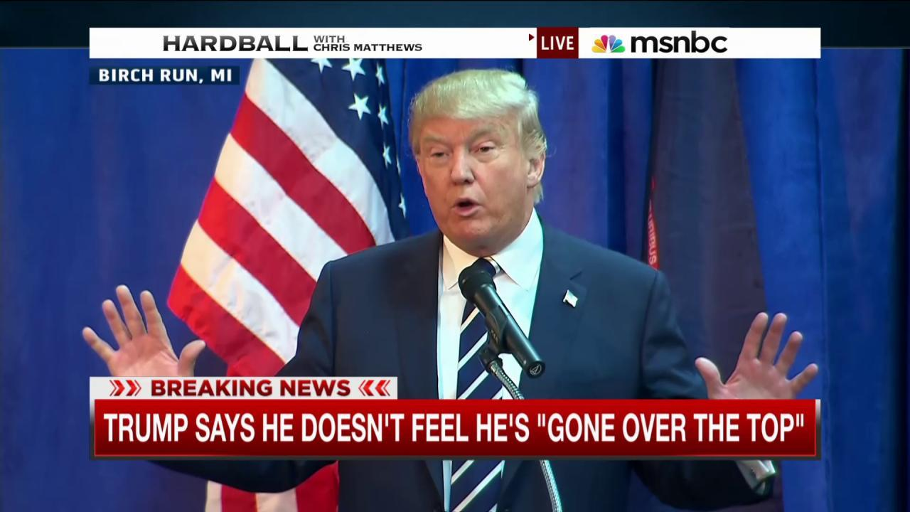 Trump holds press conference in MI