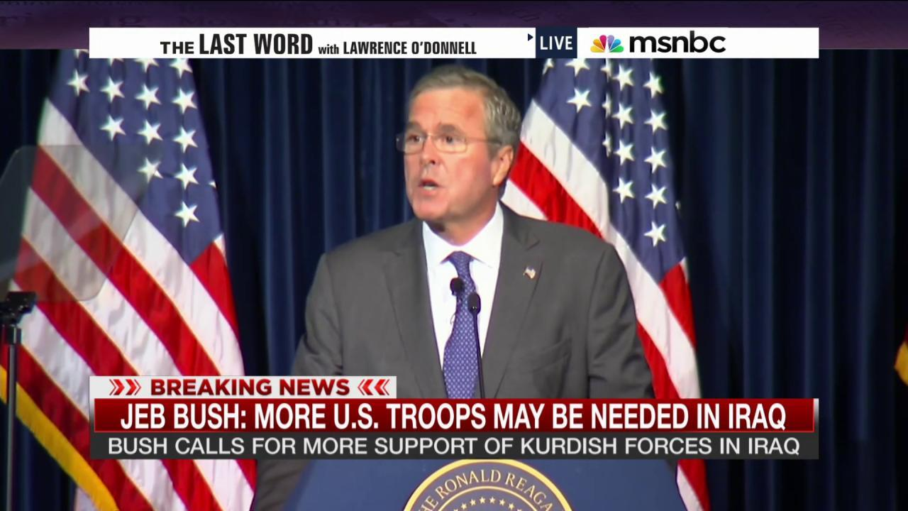 Jeb Bush's plan for Iraq & ISIS