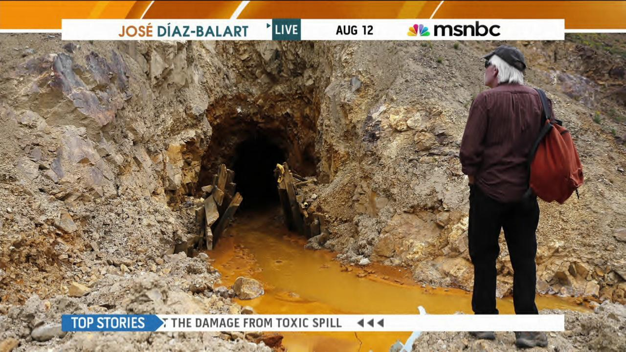 Fmr EPA admin: Animas River spill is a mess