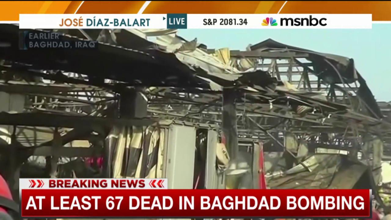 ISIS claims responsibility for Baghdad attack