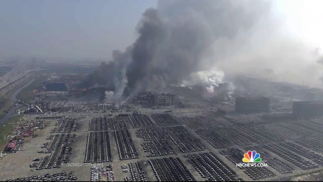 China's Tianjin Blast: Fears Turn to Potential Toxins in the Air