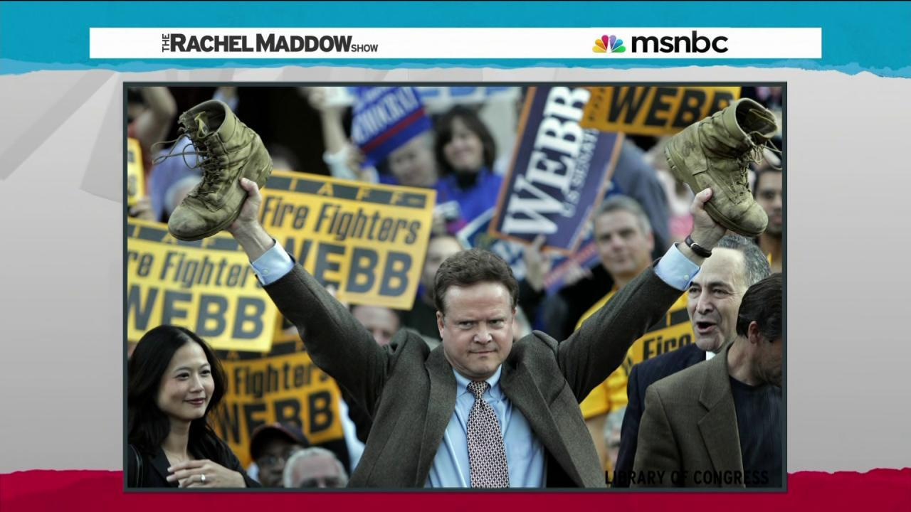 Jim Webb's politics guided by war experience