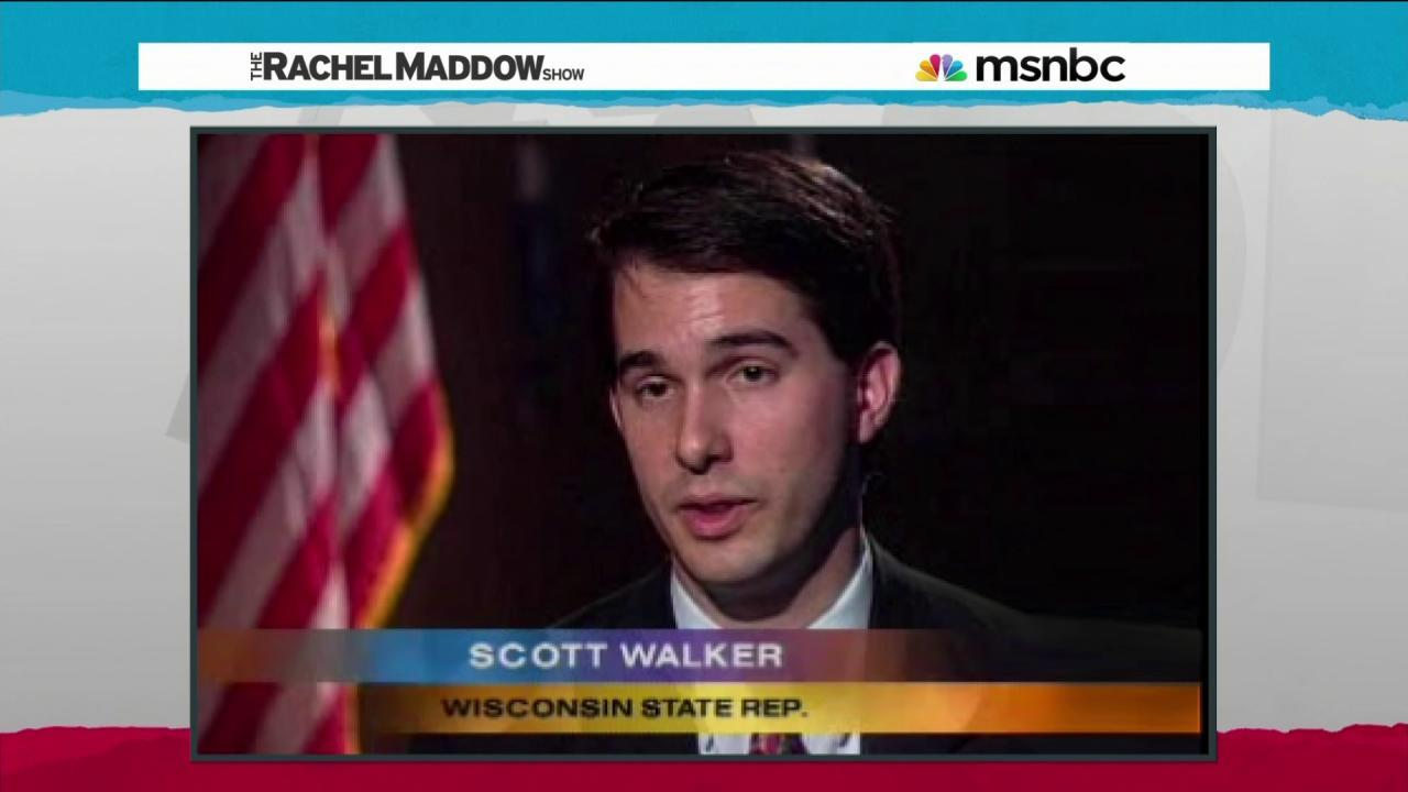 Scott Walker bolstered by 'batting average'