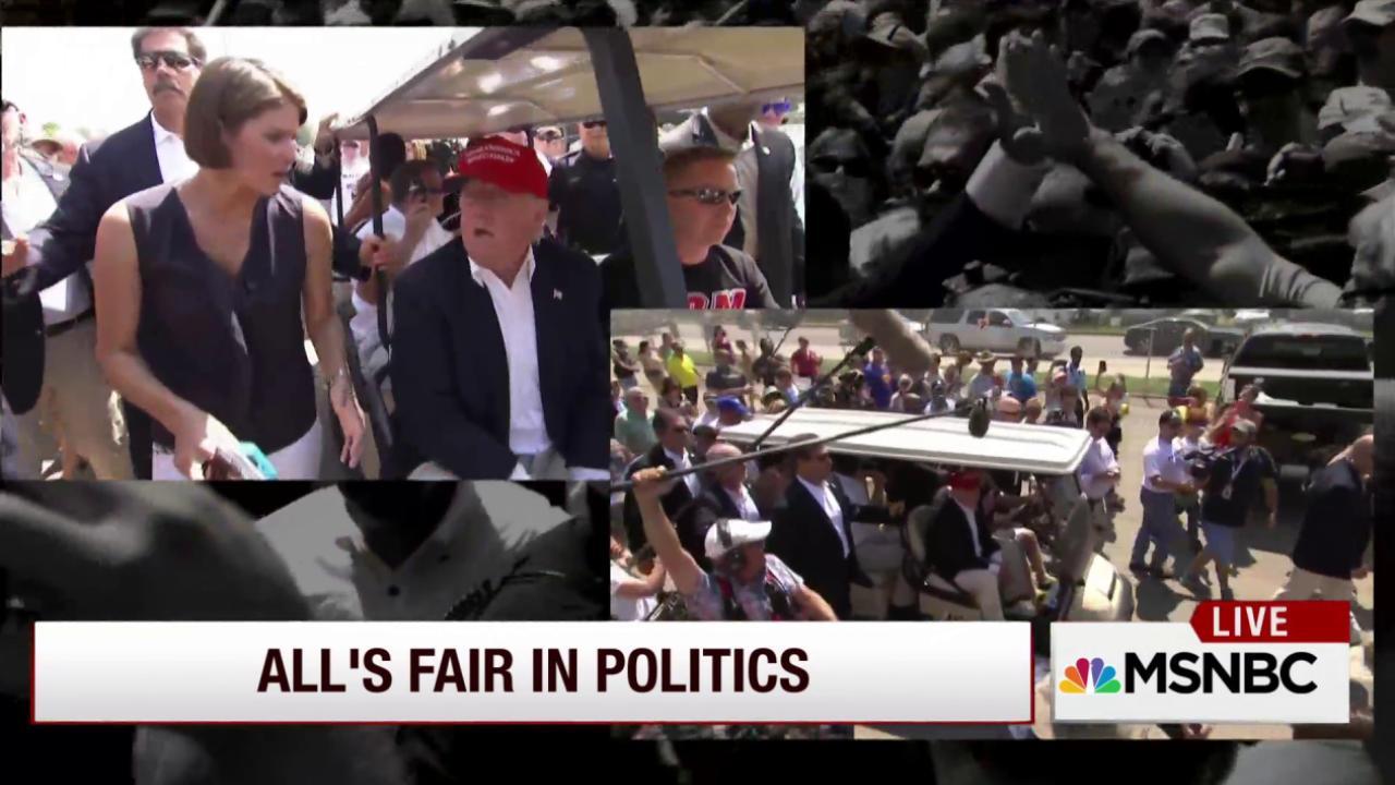Candidates make stops at Iowa State Fair