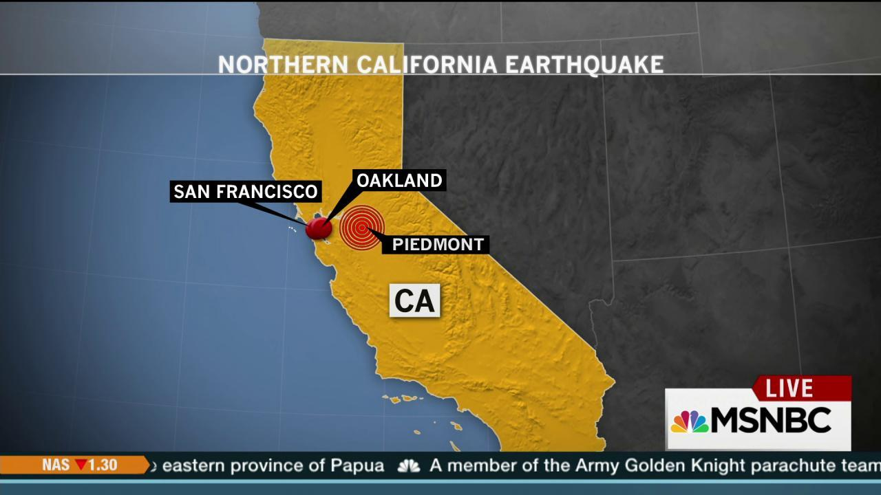 4.2 earthquake shakes Northern California