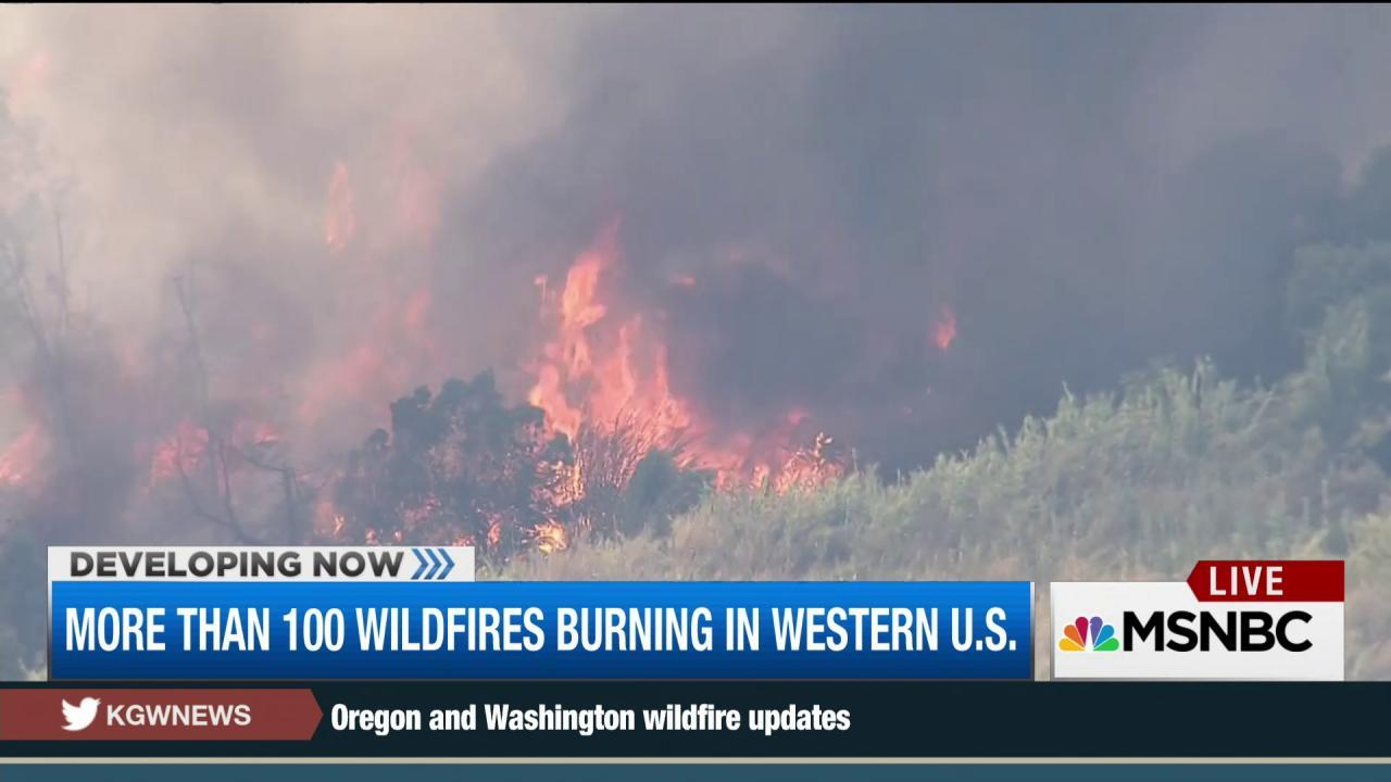 Calif. firefighters face extreme conditions