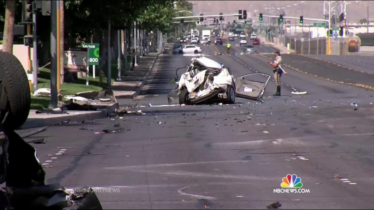 Why More People Are Dying On The Nation S Roads Nbc News
