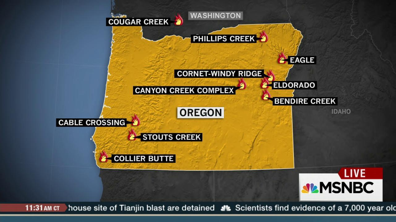 Ore. gov: 'All hands on deck' to battle fires