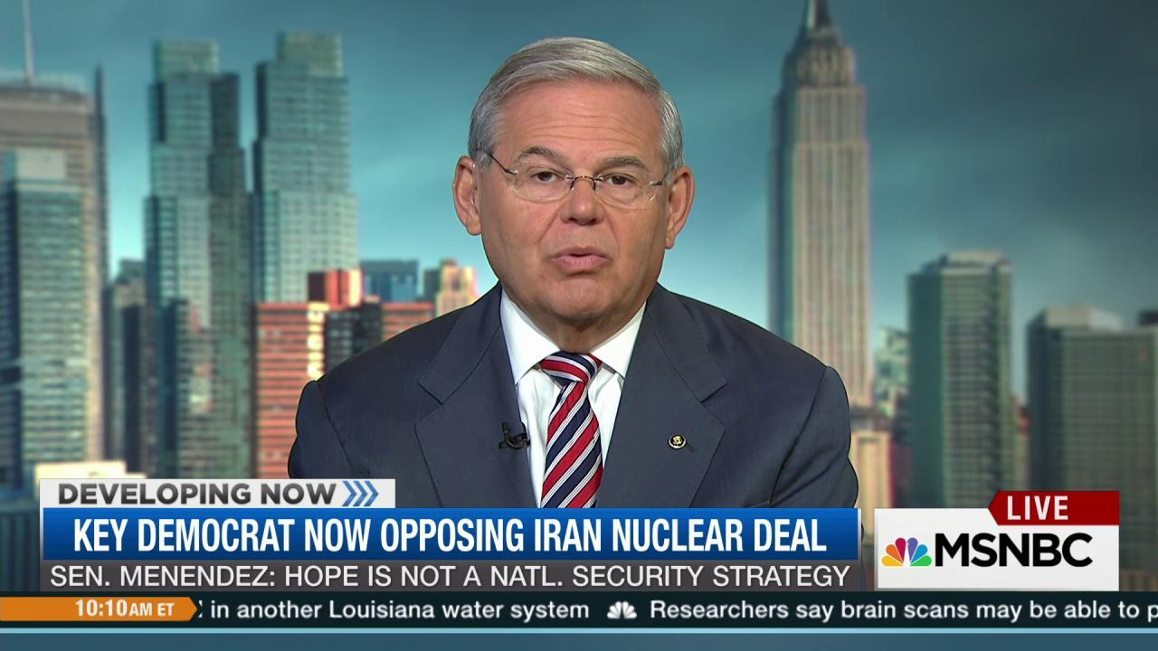 Key Democrat explains opposition to Iran deal