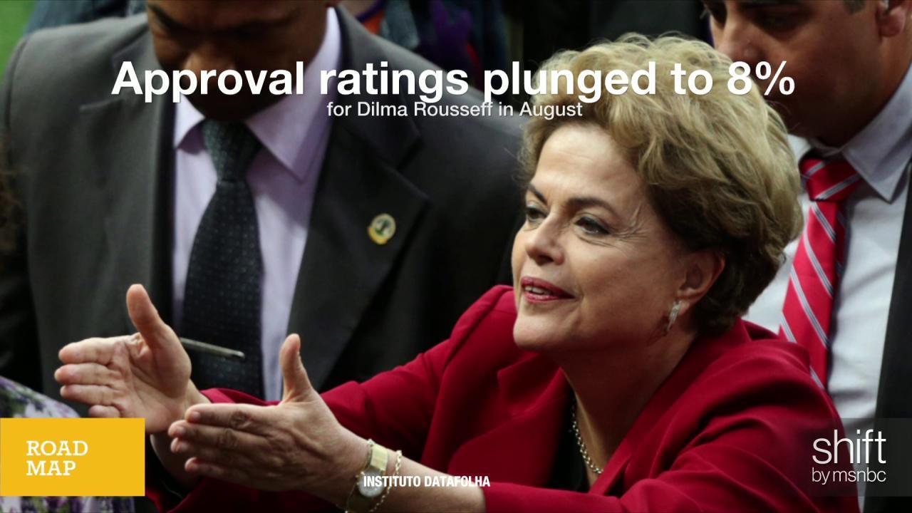 Impeachment calls grow on Brazil president