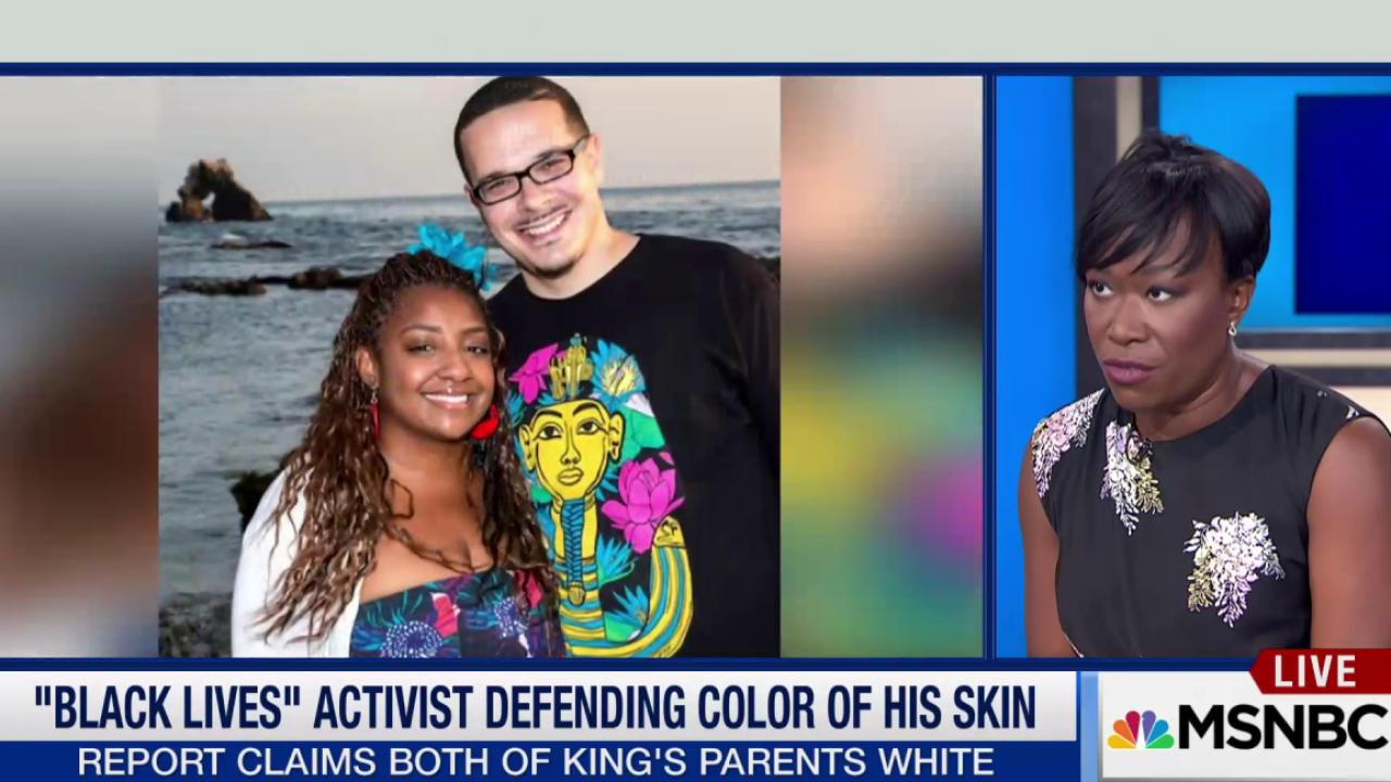 Shaun King defends racial identity