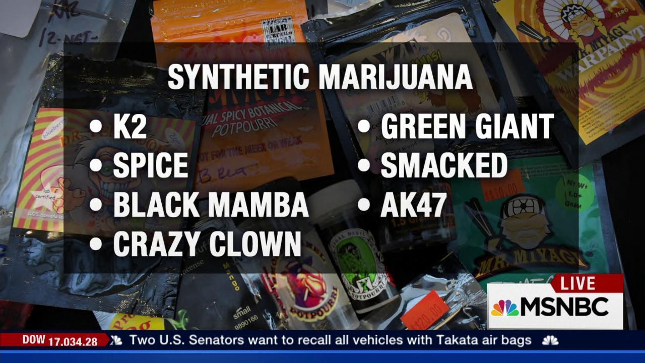The dangers of synthetic marijuana
