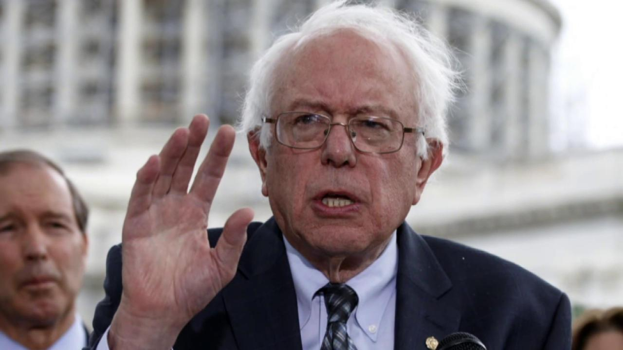 Sanders looks to maintain momentum