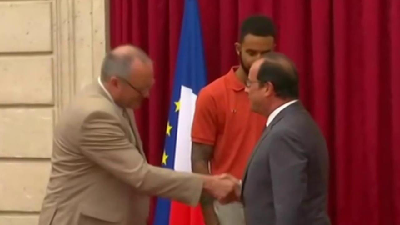 Three Americans honored in Paris
