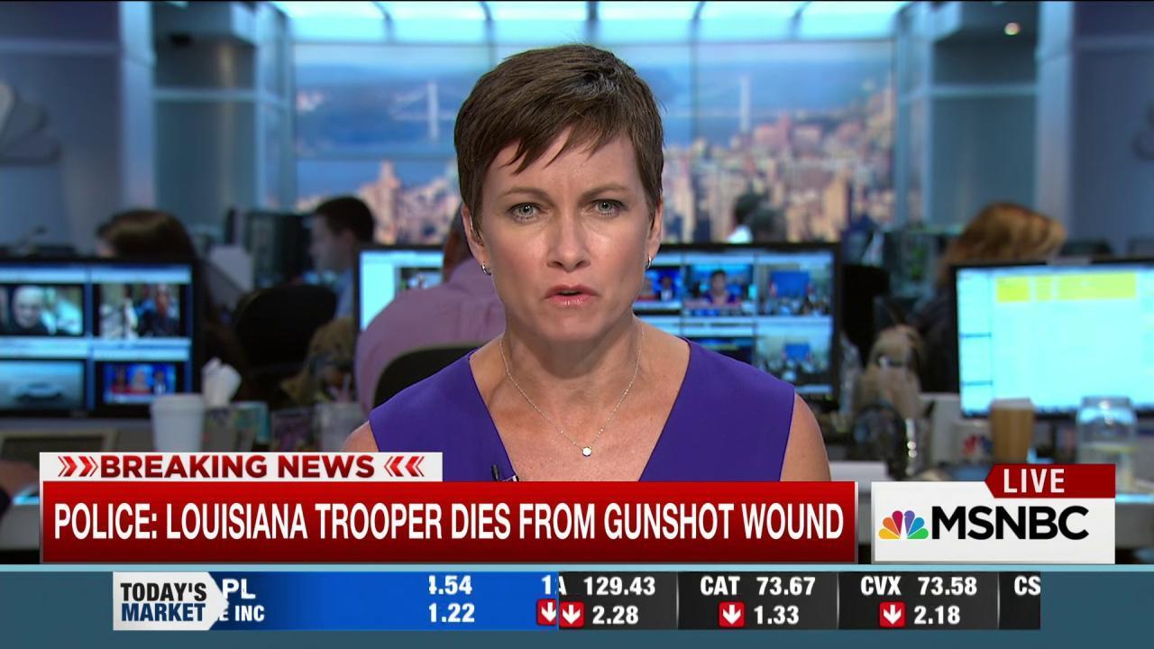 Louisiana trooper dead after traffic stop