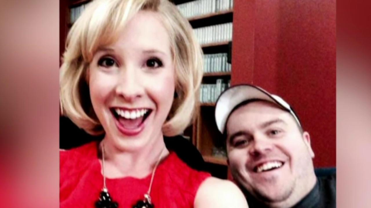 Reporter, photographer shot live on the air