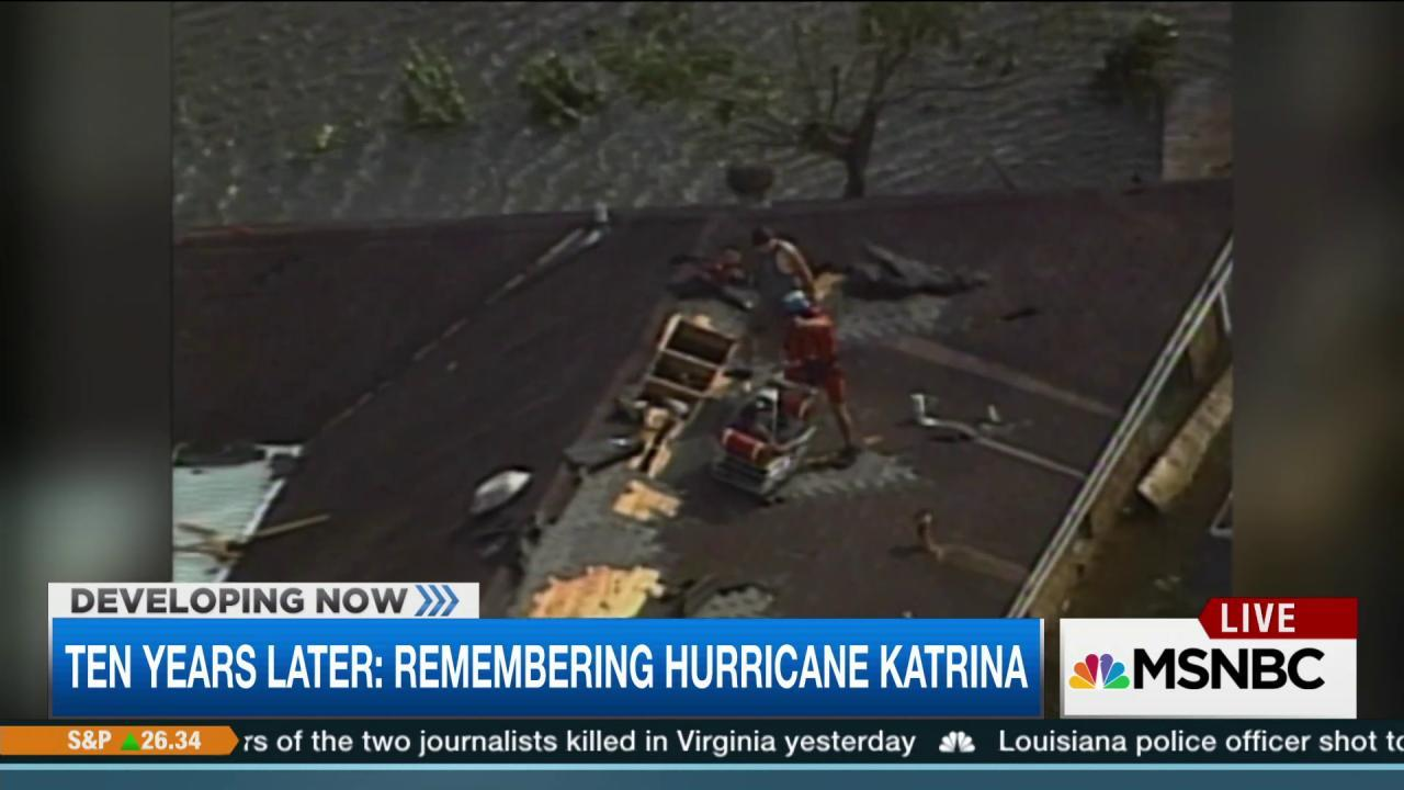 Hurricane Katrina, 10 years later