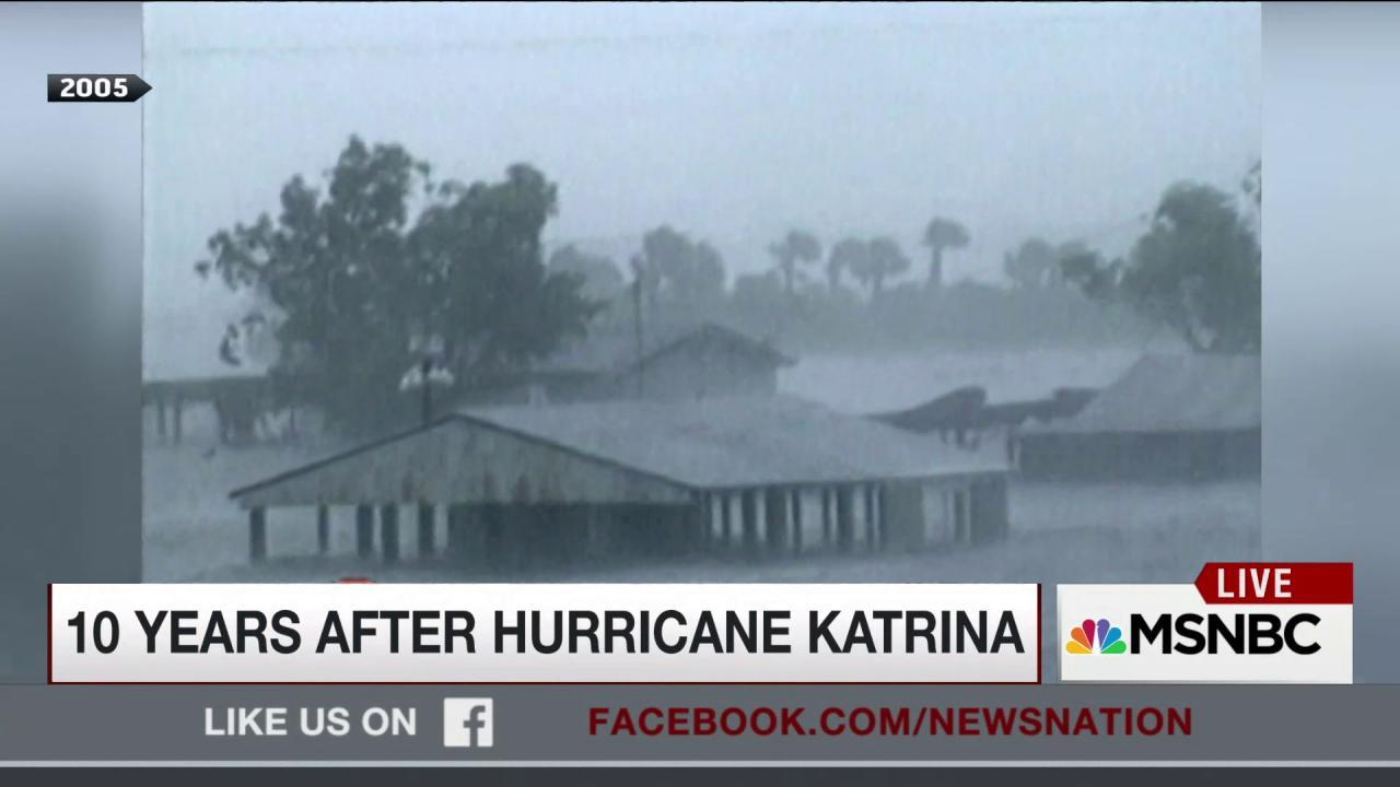 10 years after Hurricane Katrina