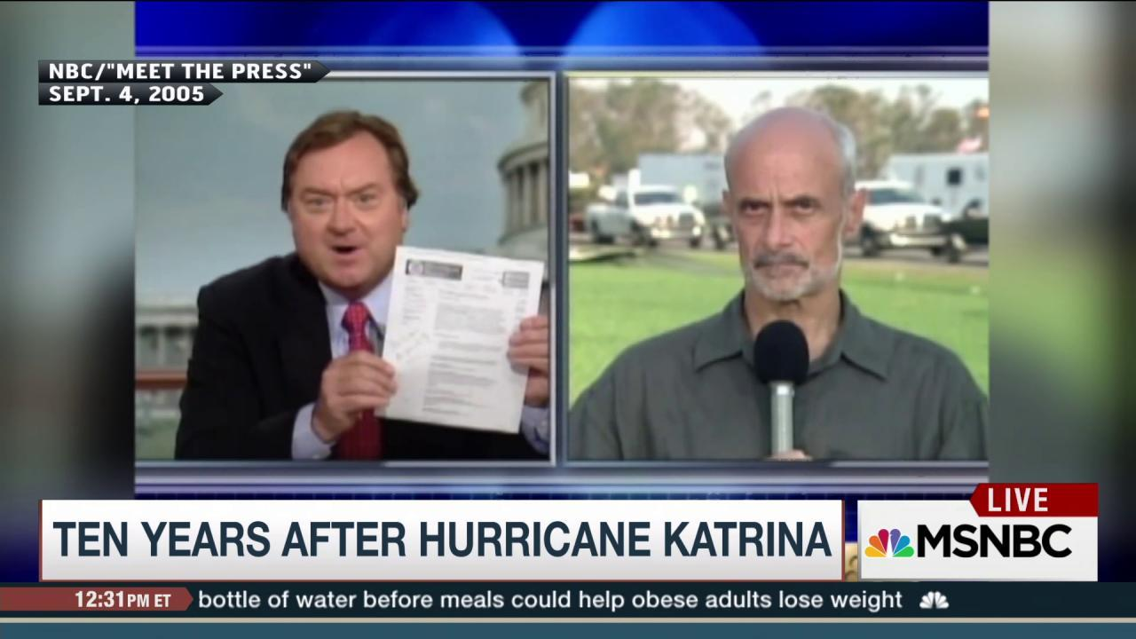 Reflecting on lessons from Hurricane Katrina